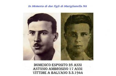 Mariglianella e Brusciano Tracce di Memoria Balvano 1944