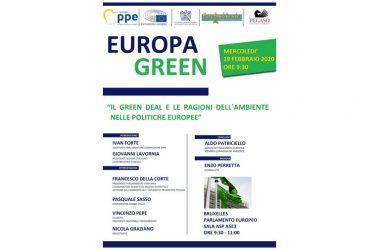 GREEN DEAL E LE RAGIONI DELL'AMBIENTE NELLE POLITICHE EUROPEE