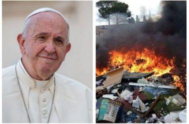 Acerra . Il Papa nella Terra dei Fuochi il 24 maggio, vedrà le famiglie delle vittime