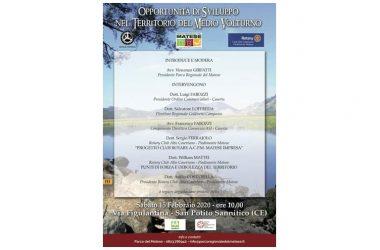 Opportunità di sviluppo per il Medio Volturno, Parco del Matese e Rotary Club insieme per parlarne