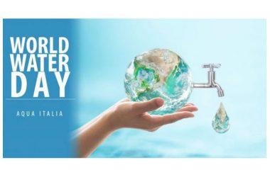 La giornata Mondiale dell'Acqua, la celebrazione di un appuntamento vitale.