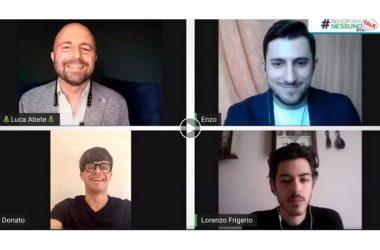 Il liceo Manzoni protagonista nel #NonCiFermaNessuno web talk di Luca Abete