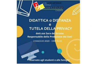 A scuola di privacy anche famiglie e studenti al Liceo Artistico San Leucio