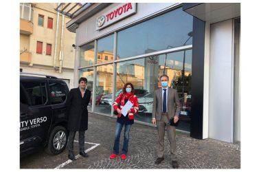 Doppia iniziativa tra Napoli e Caserta: Toyota Funari per l'ospedale Cotugno e la Croce Rossa Italiana