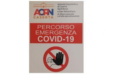 AORN di Caserta, modalità di informazione ai familiari dei pazienti ricoverati nei reparti Covid-19