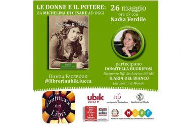 Ripartire dai libri, ripartire dalle donne. È targata Caserta, con Nadia Verdile, la ripartenza di Pacini Fazzi editore a Lucca.