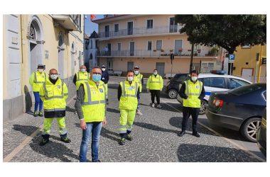 Cancello ed Arnone: Gruppo Comunale di Protezione Civile in trasferta.