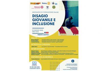 """""""Disagio giovanile e inclusione"""", evento online con esperti di spessore internazionale"""