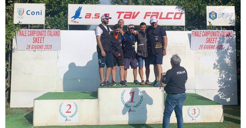 I campionati italiani sul poligono in riva al Volturno