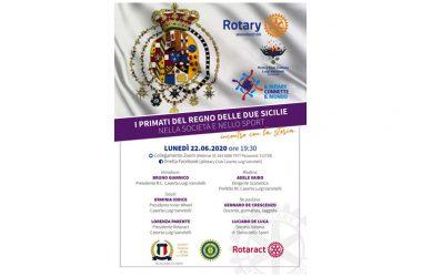 """Il Rotary Caserta """"Luigi Vanvitelli"""" promuove un incontro sulla storia per guardare con altra prospettiva al futuro."""