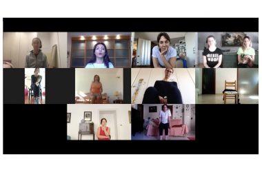 Il Centro internazionale Claudia Sales Labart Dance continua online il lavoro con i propri allievi