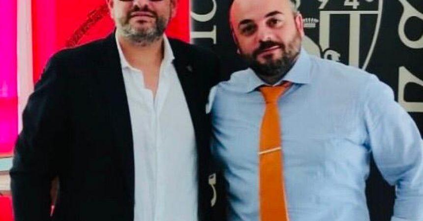 Stefano Sorrentino e papà Roberto all'FC Torinese 1894, LRM Piemonte presente alla conferenza