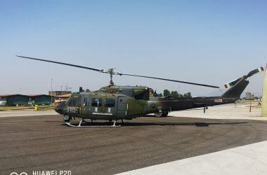 Cancello ed Arnone – Il Sindaco Ambrosca  all'inaugurazione del nuovo elicottero HH101 presso il 9^ Stormo F. Baracca di  Grazzanise.