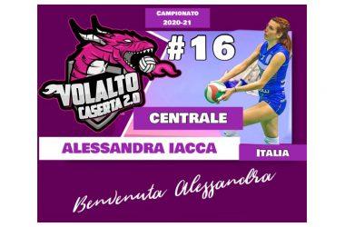 La batteria di centrali della Volalto 2.0 Caserta si arricchisce di un nuovo elemento, Alessandra Iacca, determinazione e talento.