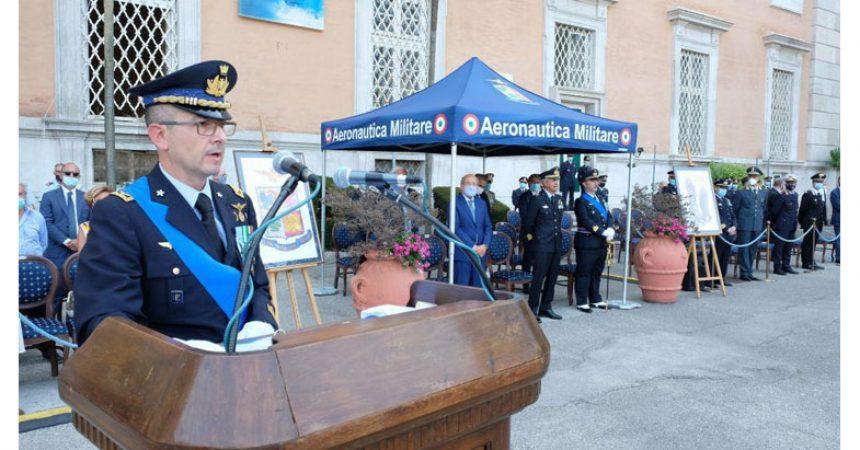 Caserta, cambio al Comando della Scuola Specialisti dell'Aeronautica Militare