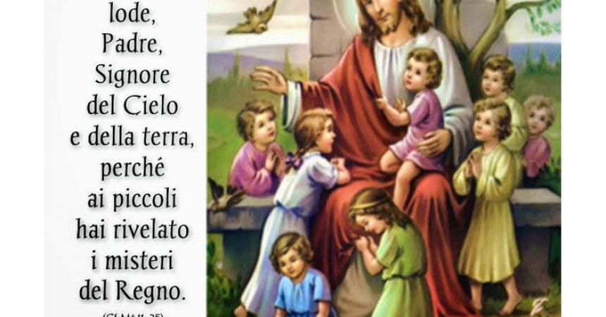 Vangelo di MatteoDOMENICA 5 LUGLIO 2020