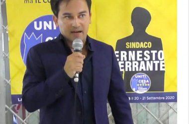 """Uniti per Cesa, Ernesto Ferrante: """"Facciamo con semplicità il nostro dovere"""""""