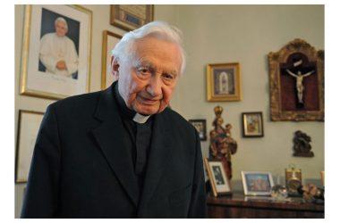 S.Messa per Mons. Georg Ratzinger.