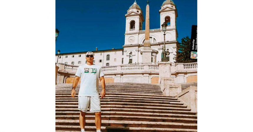 Lele hondo official torna a Roma: figurerà nel nuovo video di James Audi