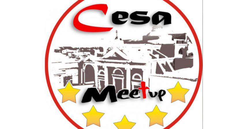 """Modifica logo """"Uniti per Cesa"""", Meet Up dà spiegazioni: """"Motivo è burocratico, nessun diniego da vertici partito"""""""