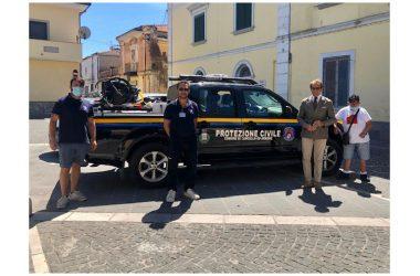 Cancello ed Arnone: un pick up per la Protezione Civile.