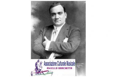 """Enrico Caruso, al via il ciclo di eventi per la celebrazione del centenario … dell'Associazione Culturale Musicale Onlus """"Aniello Barchetta"""""""