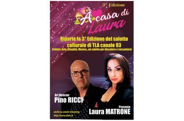 """Campania: parte la terza edizione del programma tv """"A casa di  Laura"""", tra i temi l'omofobia"""