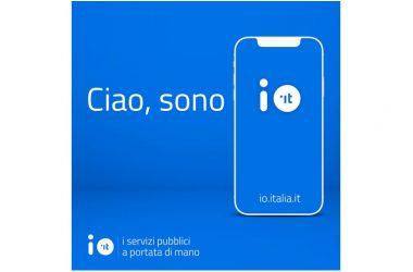 Cancello ed Arnone primo comune della  Campania ad utilizzare l'app IO con tutti i servizi aperti.