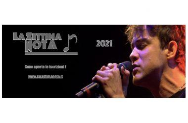 Sono aperte le iscrizioni al Concorso Musicale LA SETTIMA NOTA 2021.