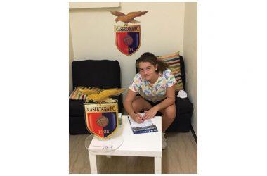 VITULAZIO, Calcio femminile, la giovanissima Adalgisa Maturo vola dai falchetti della Casertana. Plauso dalla UGL