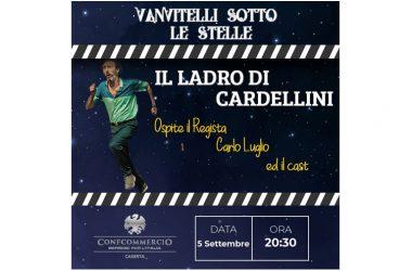 Carlo Luglio, Ernesto Mahieux e Pino Mauro ospiti di 'Vanvitelli sotto le stelle'