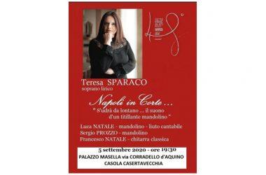 Il Soprano Internazionale Teresa Sparaco al Festival del Settembre al Borgo 48° Edizione