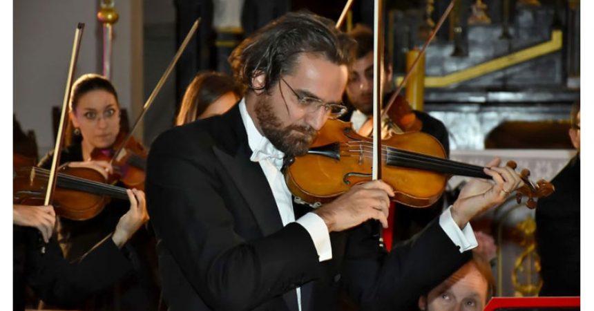 Daniele Orlando, primo violino dei Solisti Aquilani chiude la rassegna D'Arte e Musica
