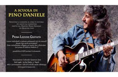 """""""A SCUOLA DI PINO DANIELE"""".PRIMA LEZIONE GRATUITA"""