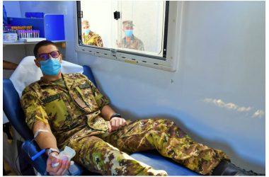 """Donazione di sangue al 17° RAV """"Acqui"""""""