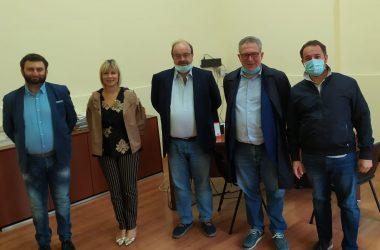 """Il Sindaco di Maddaloni Andrea De Filippo in visita stamane all'Istituto Tecnico Superiore """"TEC MOS"""""""