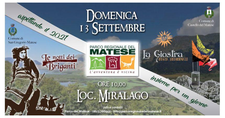 """""""Le notti dei Briganti"""" e """"La  Giostra"""", grande festa a Miralago"""