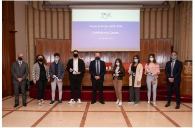 CONFINDUSTRIA CASERTA ASSEGNA 26 BORSE DI STUDIO AGLI STUDENTI MERITEVOLI.