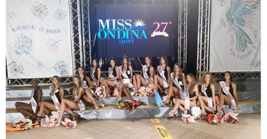 Proclamata al Parco Acquatico Valle dell'Orso di Torre del Greco la nuova Miss Ondina Sport