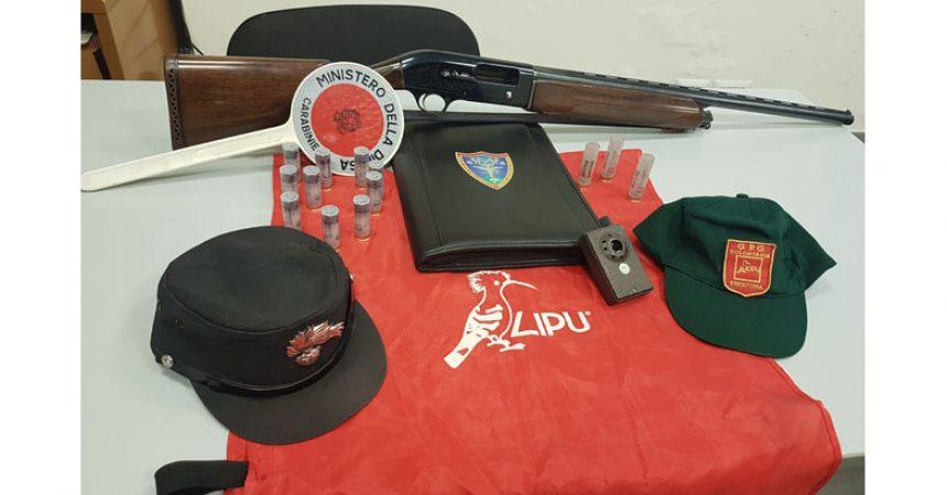 Carabinieri Forestali e Guardie LIPU – Controlli antibracconaggio nel Vesuviano