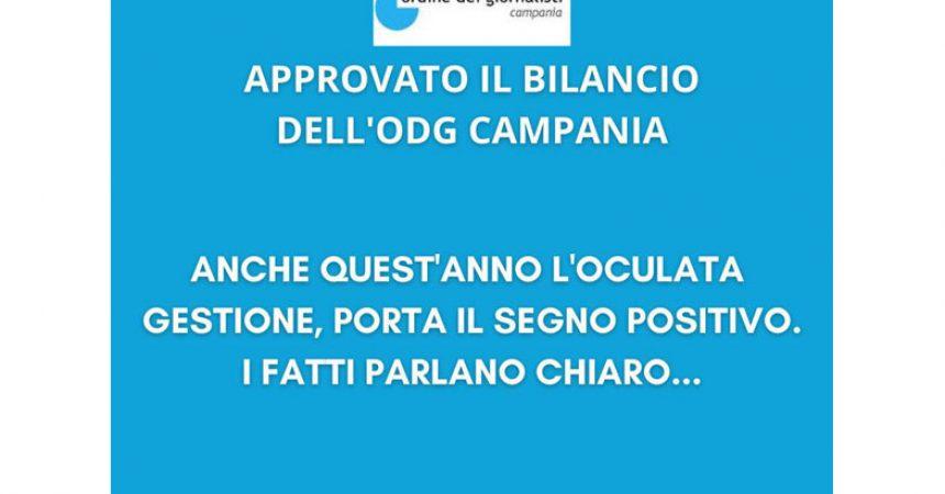 Approvato il bilancio dell'Ordine dei giornalisti della Campania
