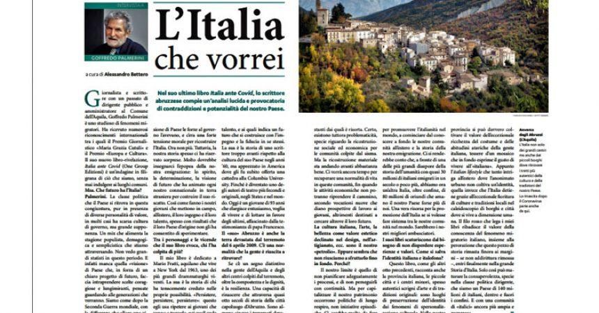 Il Messaggero di Sant'Antonio, edizione per l'estero: l'intervista a Goffredo Palmerini