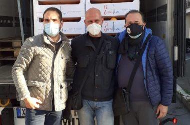 Solidarietà: arrivati beni di prima necessità per le famiglie di  Castel Volturno