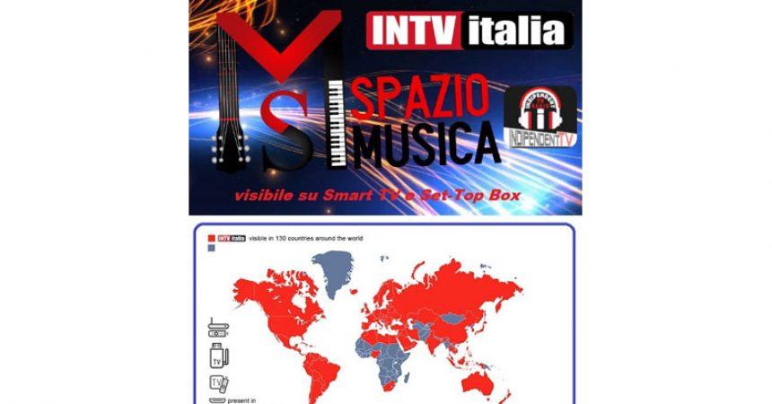Nancy Fazzini e Daniele Liberato con SPAZIO MUSICA in onda in 130 paesi.