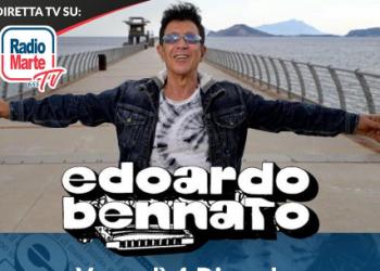 EDOARDO BENNATO in diretta su RADIO  MARTE