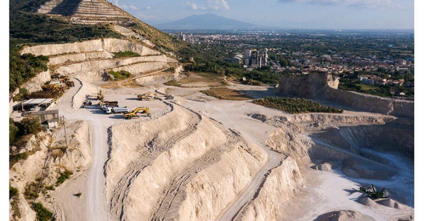 La devastazione delle cave in Provincia di Caserta
