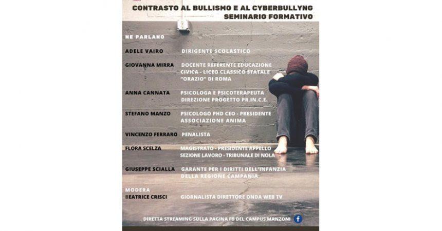 Contrasto al bullismo ed al cyberbullismo