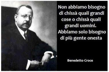 BENEDETTO CROCE ED IL SUO PENSIERO FILOSOFICO ESTERNATO AI SOCI DI LETTERATITUDINI