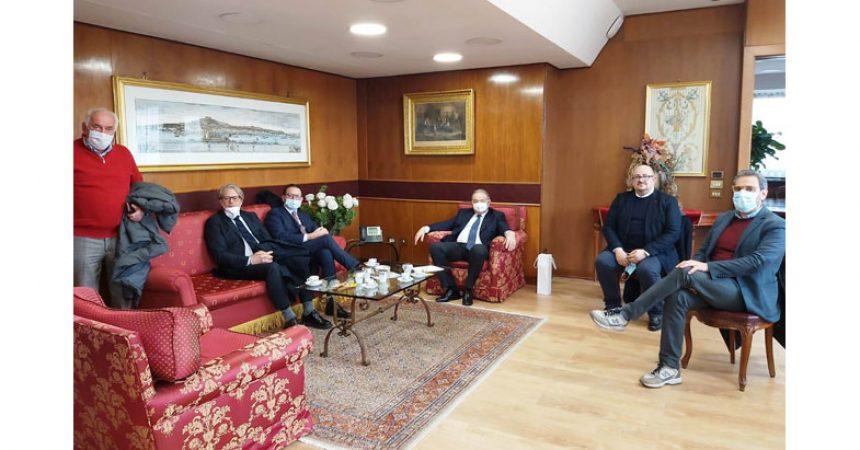 Confimprese Caserta incontra il presidente del Consiglio Regionale: un tavolo per risollevare l'economia del territorio