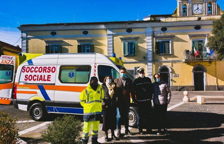 CANCELLO ARNONE: Attivato il servizio di trasporto in ambulanza